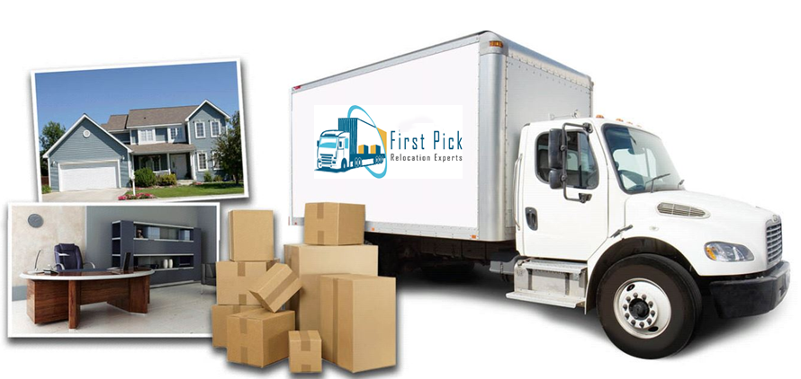 Firstpick offers you Safe & Secure Relocation of Household, Offices, and Warehouses